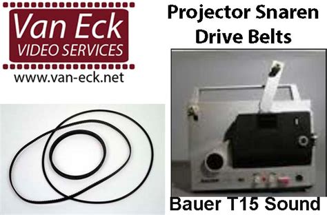 Van Eck Video Services Projector Lamps Belts And