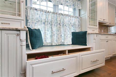 window bench with drawers beach bungalow kitchen belmar new jersey by design line