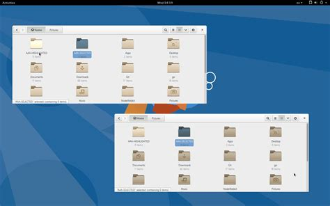 best themes gnome 3 16 gnome 3 14 to finally get an improved icon theme
