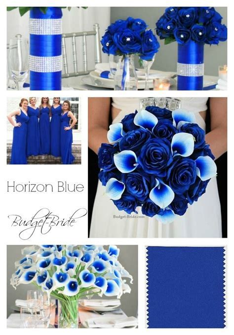 Horizon Blue Wedding Flowers   Blue Wedding Flowers in