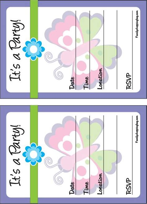 printable birthday invitations butterfly free printable butterfly party invites madie s birthday