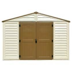 Duramax 10 X 8 Shed by Duramax Building Products Woodbridge Plus 10 5 Ft X 8 Ft