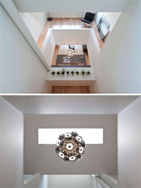 shaft house  void  light small houses