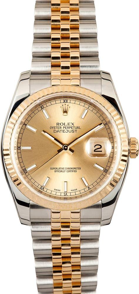 rolex datejust 116233 jubilee bracelet