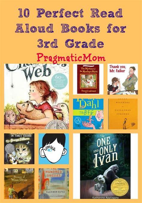 read aloud picture books for 4th grade 10 read aloud books for 3rd grade book