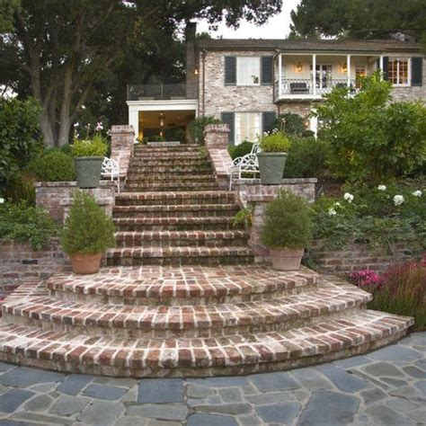 Brick Stairs Design 105 Best Front Porch Steps Images On Pinterest