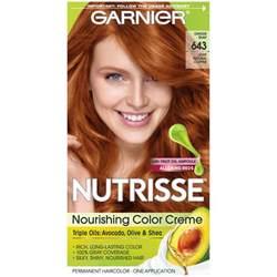 garnier hair colour models garnier 643 light natural copper nourishing color creme 1