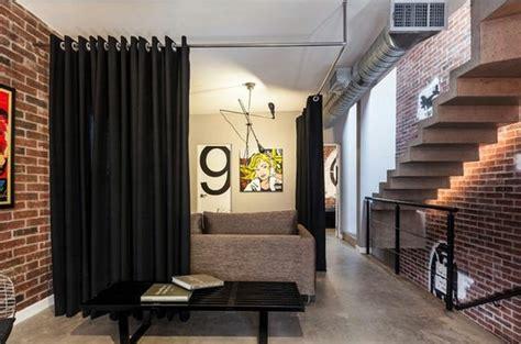 Bathroom Drapery Ideas by Use Curtain Room Divider Smart Home Design Ideas