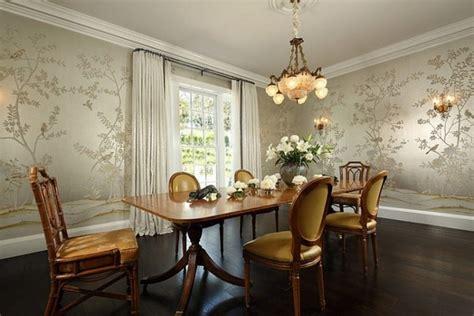 deco papier peint salle a manger d 233 co salle a manger en papier peint exemples d am 233 nagements