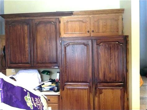 staining oak cabinets darker how to refinish oak cabinets darker cabinets matttroy
