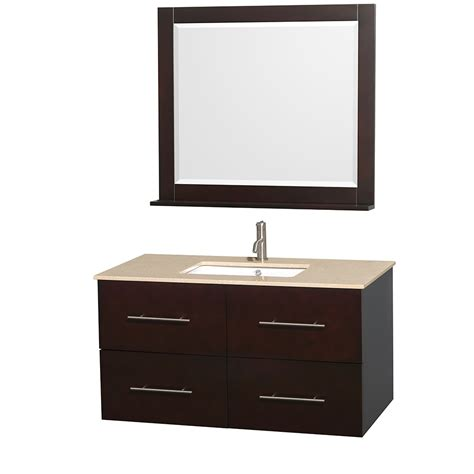 36 inch bathroom mirror wyndham collection wcvw00942sesivunsm36 centra 42 inch