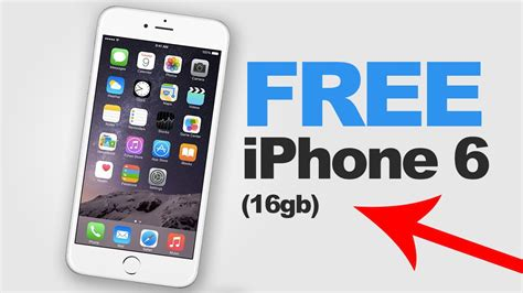 how to get a free iphone 6 2015