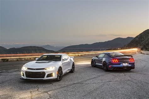 vs mustang shelby mustang gt350r vs camaro zl1 a battle of the ages