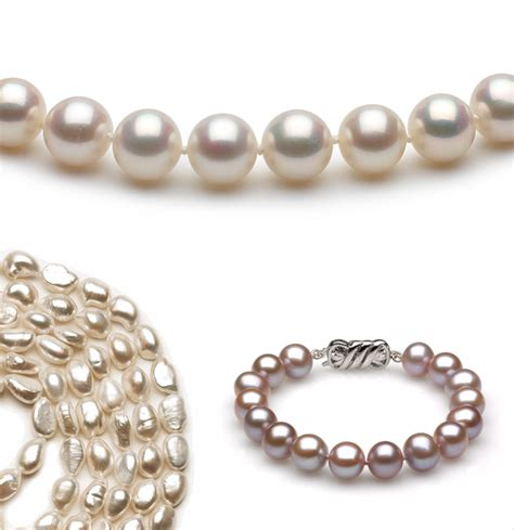 cultured pearl cultured pearls versus freshwater pearls pearls shown
