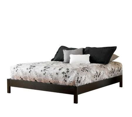 murray platform full bed frame h157441 qvc com