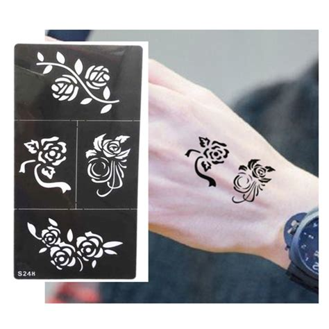 temporary tattoo online buy online buy wholesale temporary tattoo stencil from china