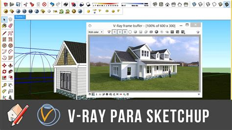 tutorial de vray para sketchup tutorial sky light hdri youtube