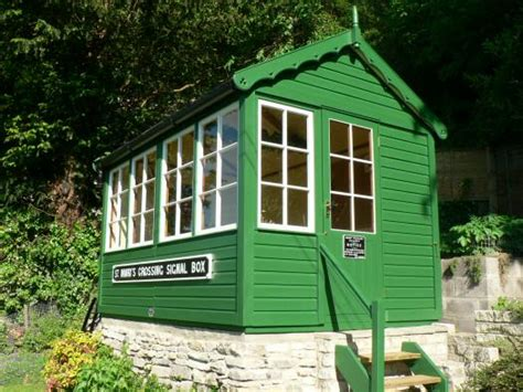 signal shed the signal box unexpected from gloucestershire owned by