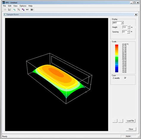 ashrae thermal comfort tool modelling radiant systems and thermal comfort using ashrae rpe software tool