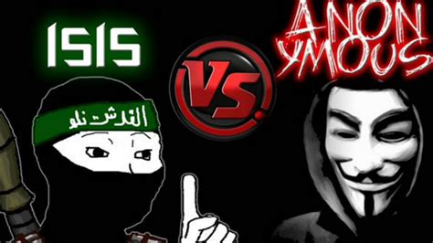 hacker group isis calls anonymous idiots in response to hacker group