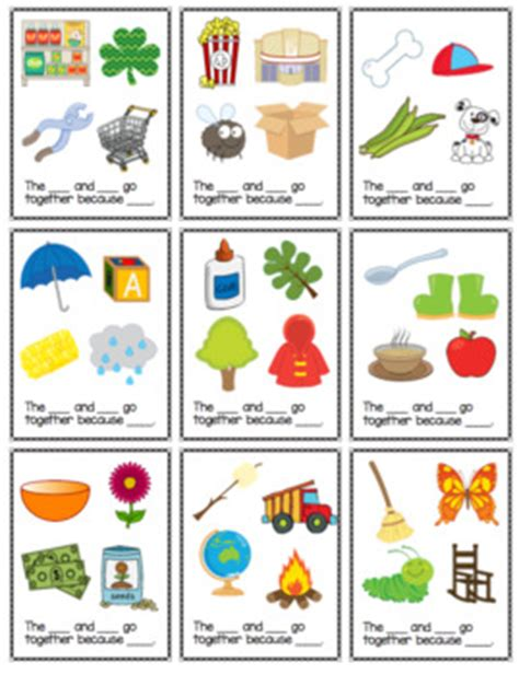Gift Card Association - association task cards by the autism helper teachers pay teachers