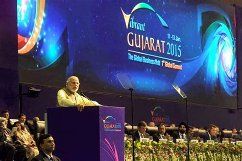 bookmyshow gandhinagar at vibrant gujarat summit narendra modi promises