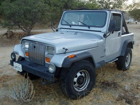 1987 Jeep Wrangler Parts Sell Used 1987 Wrangler Ohv 6 Cyl Engine With Second