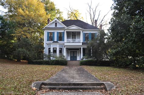 Coleman House by Johnston Coleman House At Greensboro Al Built Ca 1900