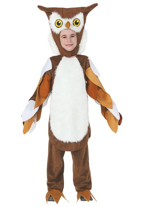 Barn Owl Hoot Child Owl Costume