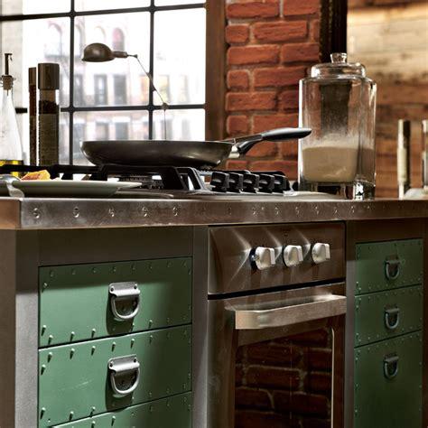 cucine per loft cucina componibile in acciaio inox con isola loft