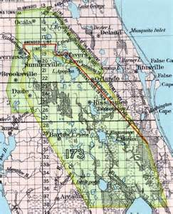 florida map seminole reservation