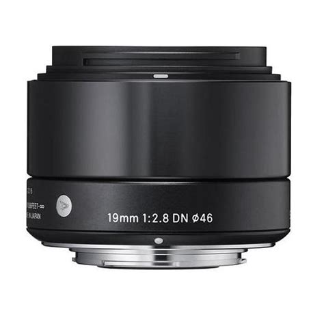 Lensa Sigma Wide Angle 19mm F2 8 sigma dn 19mm f 2 8 wide angle lens for micro four