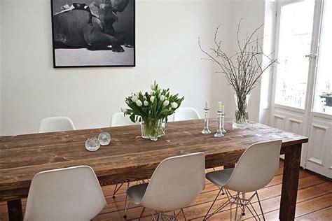 Riesige Esszimmer Tische by Die Besten 25 Eames Tisch Ideen Auf Eames