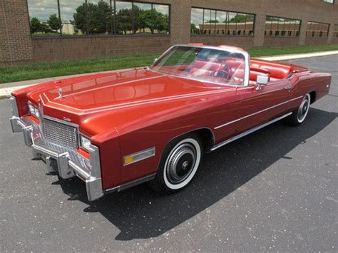 500 cid cadillac engine find used 1976 cadillac eldorado convertible firethorn