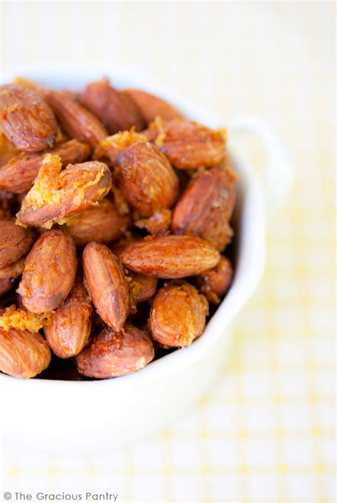 The Gracious Pantry by Clean Lemon Honey Almonds Recipe The Gracious