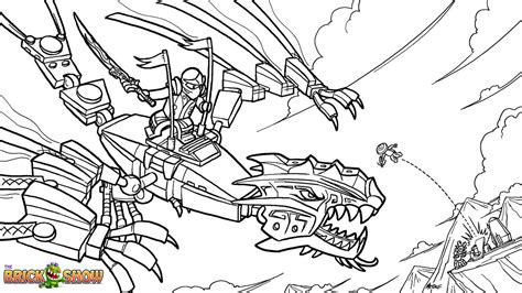 free lego ninjago garmadon coloring pages