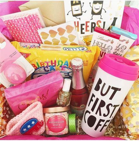birthday basket gifts pinterest gaveideer gaver og
