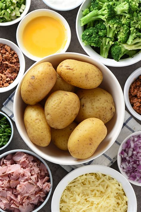baked potato bar toppings list the ultimate baked potato bar