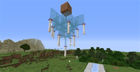 Minecraft glass chandelier design aloadofball