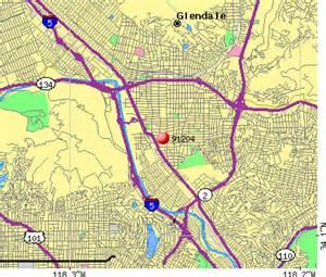 where is glendale california on a map 91204 zip code glendale california profile homes