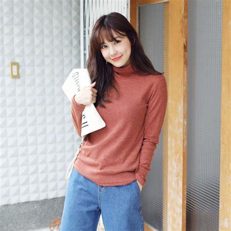 4783top Sleeve Japanese Ribbon Knitted tokyo fashion womens sleeve turtleneck top japanese korean fashion ebay