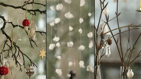 herbst winterdeko fenster weihnachtsdeko basteln kreative fenster deko selber machen