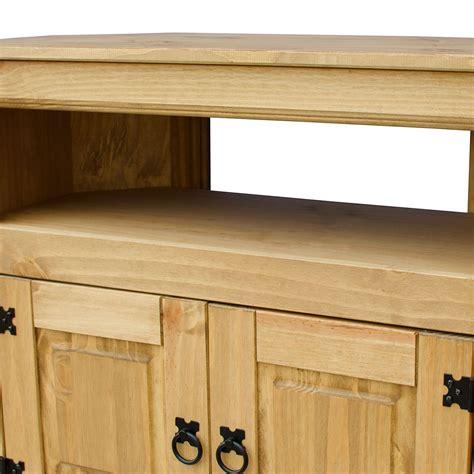 solid wood corner media cabinet corona panama tv cabinet media dvd unit solid pine wood