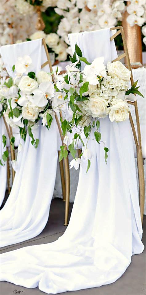 decorations de chaises de mariage  tomber mariagecom