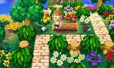 acnl landscaping ideas images animal crossing qr