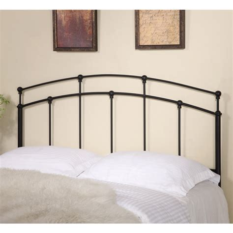 walmart headboards coaster full queen metal headboard black walmart com