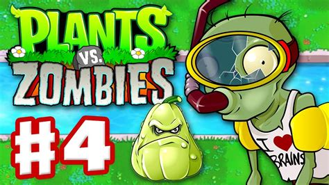 Plants Vs 4 plants vs zombies gameplay walkthrough part 4 world 3