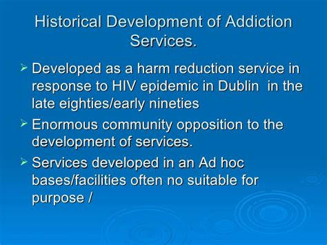 Detox Services by Hse Addiction Services