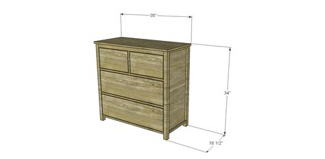 Build A Dresser by Free Diy Woodworking Plans To Build A Plain Dresser