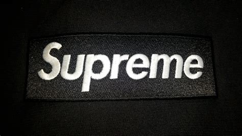 Virtus Background Check Legit Check On Black Supreme Box Logo Crewneck F W15 Hypebeast Forums